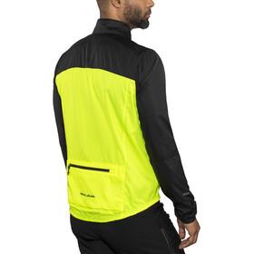 PEARL iZUMi Elite Escape Barrier Jacket Herre black/screaming yellow